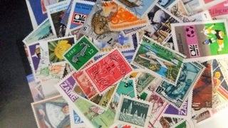 50 znaczków ze świata, KAŻDY INNY доставка товаров из Польши и Allegro на русском