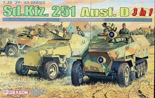 DRAGON 6233 Sd.Kfz 251 Ausf.D (3 in 1)  доставка товаров из Польши и Allegro на русском