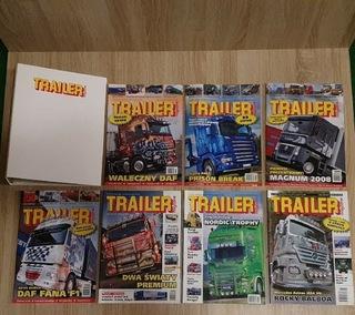Сборник газет Trailer Magazine в хорошем состоянии доставка товаров из Польши и Allegro на русском