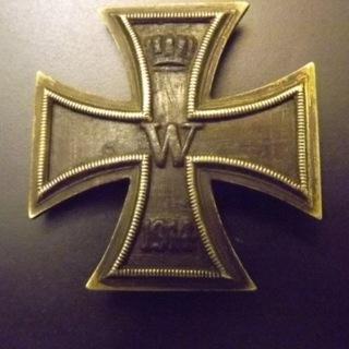 Krzyż Żelazny I kl., I wojna, oryginał доставка товаров из Польши и Allegro на русском