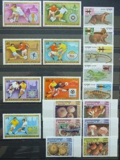 Zbiór czystych znaczków tematycznych w seriach 3 доставка товаров из Польши и Allegro на русском