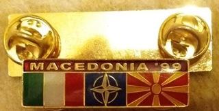 Odznaka Kontygentu Włoskiego Macedonia 1999 доставка товаров из Польши и Allegro на русском