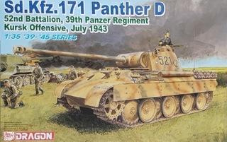 DRAGON 6164 Sd.Kfz.171 Panther D, Kursk July 1943 доставка товаров из Польши и Allegro на русском