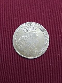 18 Groszy August III Sas. 1755 доставка товаров из Польши и Allegro на русском