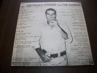 LEONARD COHEN - LIVE SONGS доставка товаров из Польши и Allegro на русском