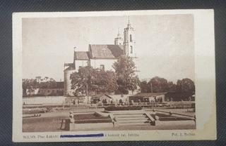 ВИЛЬНЮС Площадь Łukiski и церковь св. Иакова открытка доставка товаров из Польши и Allegro на русском
