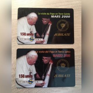 2 карты коллекционная Иоанн Павел II доставка товаров из Польши и Allegro на русском