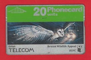 WIELKA BRYTANIA fauna ptak sowa / 046D доставка товаров из Польши и Allegro на русском