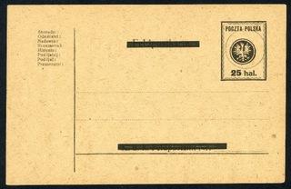 1918 г. Карточка КП 5 Люблинское издание  доставка товаров из Польши и Allegro на русском