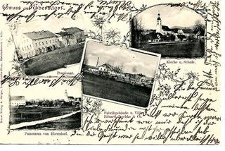 Domaszków (Ebersdorf), 1903 rok. доставка товаров из Польши и Allegro на русском