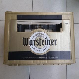Коробка Warsteiner  доставка товаров из Польши и Allegro на русском