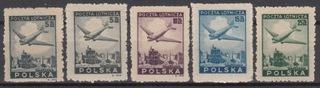 Fi. 395-400 ** марки + описание J. Waloch от 1 PLN BCM  доставка товаров из Польши и Allegro на русском