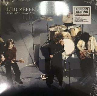 Led Zeppelin Live Scandinavia '69 Biały winyl доставка товаров из Польши и Allegro на русском