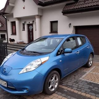 Nissan Leaf 2012 rok dwuletnia bateria доставка товаров из Польши и Allegro на русском