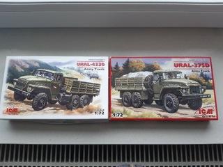 Урал 375Д и Урал 4320  доставка товаров из Польши и Allegro на русском