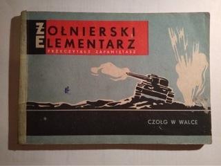 Танк в бою , ил., комикс М. Валентиновича, 1956? доставка товаров из Польши и Allegro на русском