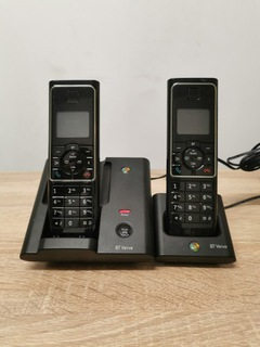 Telefon stacjonarny bezprzewodowy 2 słuchawki доставка товаров из Польши и Allegro на русском