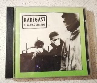 Radegast- Otrávená Generace CD 1992 Czech, UNIKAT! доставка товаров из Польши и Allegro на русском