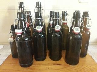 Zestaw 12 butelek na piwo z kapslem (kabłąk) доставка товаров из Польши и Allegro на русском