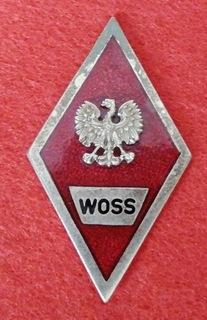 Знак WOSS доставка товаров из Польши и Allegro на русском