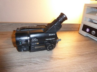 камера sony video8 xr ccd-tr415e случай  доставка товаров из Польши и Allegro на русском