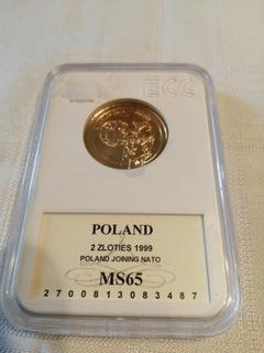 2 zł - Wstąpienie do NATO 1999 rok!! Mennicza доставка товаров из Польши и Allegro на русском