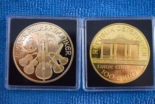 Replika monety Wiedeńscy Filharmonicy доставка товаров из Польши и Allegro на русском