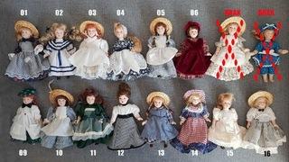 Керамические куклы - коллекционные! доставка товаров из Польши и Allegro на русском