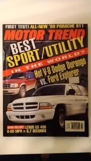 Motor Trend USA Ноябрь Ноябрь 1997 идеально  доставка товаров из Польши и Allegro на русском