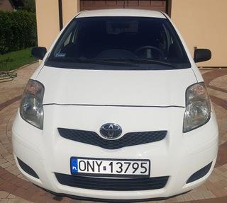 Toyota Yaris 2011 1.0, Salon PL, 1 własc. FV 23% доставка товаров из Польши и Allegro на русском
