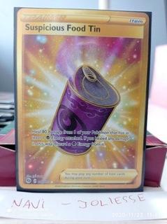 Suspicious Food Tin Secret Gold 80/73 M/NM Champ доставка товаров из Польши и Allegro на русском