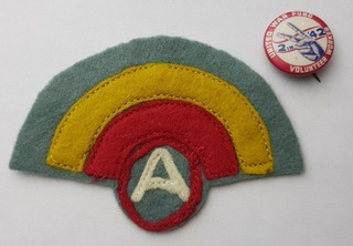 Нашивка 42-й пехотной дивизии 3-й армии Первой мировой войны  доставка товаров из Польши и Allegro на русском