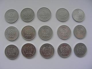 Zestaw monet 50 groszy 1971-1987 bardzo ładne !!! доставка товаров из Польши и Allegro на русском