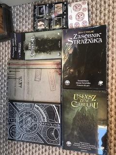 Nowy Zestaw Strażnika Księga Zew Cthulhu 7 edycja  доставка товаров из Польши и Allegro на русском