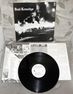 JAPAN промо DEAD KENNEDYS Fresh Fruit LP 1980 MINT доставка товаров из Польши и Allegro на русском