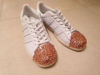 Adidas Superstar 80 'S Metal Gold Rose размер 43 1/3 доставка товаров из Польши и Allegro на русском