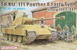DRAGON 6160 Sd.Kfz.171 Panther A Early Type, Italy доставка товаров из Польши и Allegro на русском