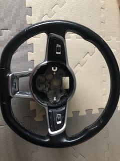 Skórzana oryginalna kierownica  VW Golf R Line GTI доставка товаров из Польши и Allegro на русском