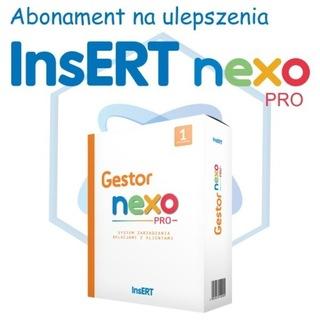 Abonament na ulepszenia InsERT Gestor nexo PRO 6st доставка товаров из Польши и Allegro на русском