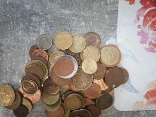 Монеты много марок доставка товаров из Польши и Allegro на русском