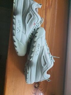 sneakersy FILA  miętowe  доставка товаров из Польши и Allegro на русском