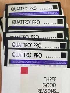 QUATTRO PRO DISKETS  доставка товаров из Польши и Allegro на русском