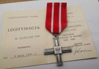 КРЕСТ НА ВОЙНУ 1920 + МИНИЧЕСКОЕ ЗАКОНОДАТЕЛЬСТВО  доставка товаров из Польши и Allegro на русском