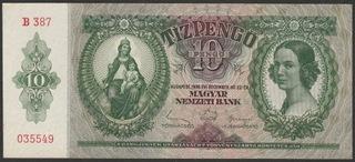 Венгрия 10 pengo 1936 - B 387 035549 - состояние 2 доставка товаров из Польши и Allegro на русском