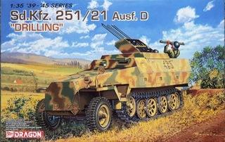 DRAGON 6217 Sd.Kfz 251/21 Ausf.D Drilling доставка товаров из Польши и Allegro на русском