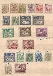 Fi 85/96B ** изд.дизайнерские 1919 плюс сорта бумаги доставка товаров из Польши и Allegro на русском