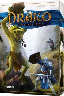 Настольная игра Draco Knights and Trolls САМЫЙ ДЕШЕВЫЙ  доставка товаров из Польши и Allegro на русском