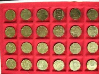 2 zł komplet 24 monet 2005 r. - 2010 r. mennicze. доставка товаров из Польши и Allegro на русском