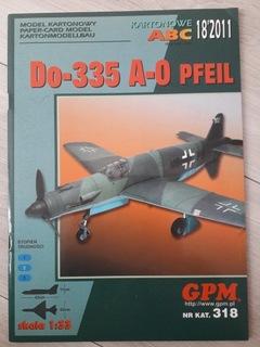 Dornier Do 335 1:33 GPM доставка товаров из Польши и Allegro на русском