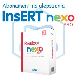 Abonament na ulepszenia InsERT Rewizor nexo PRO доставка товаров из Польши и Allegro на русском